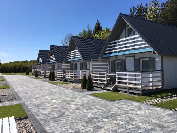 Domki Letniskowe nad morzem, Wakacje nad Bałtykiem Wicie 350m do plaży