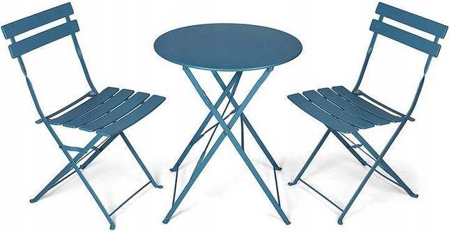 Zestaw balkonowy - stół i krzesła