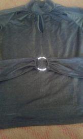 Блузка белая в полоску для девочки