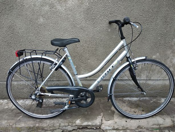 Велосипед из Германии Limit. Перекидки Shimano