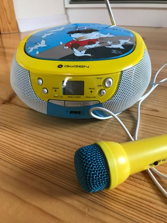 Radio Boomox z funkcją karaoke, Gogen