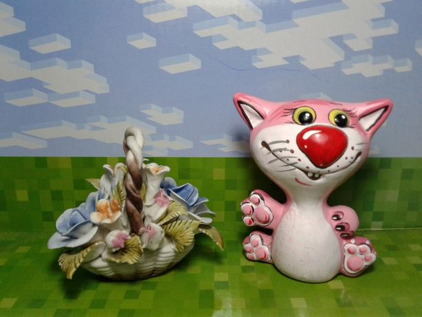 Набор сувениров букет и кот