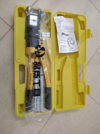 Alicate de Cravar Terminais Hidráulico 10-300