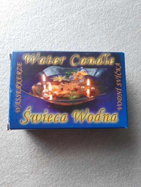 Świeca świeczki ozdobne aromat klimat kolory na wodzie