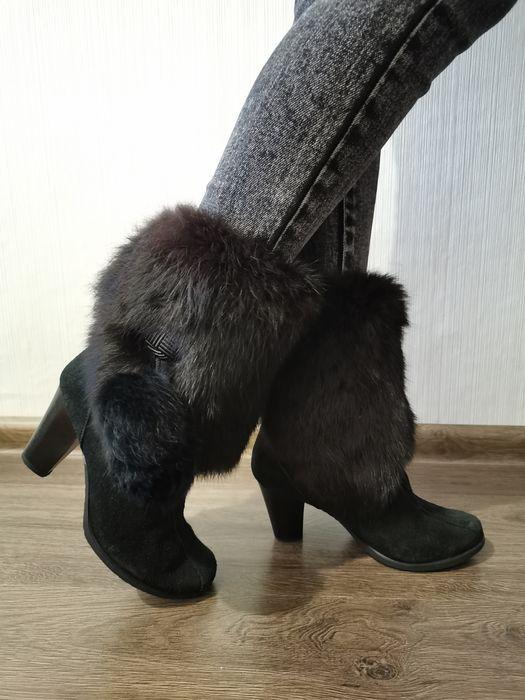 Зимове взуття  на каблуку Радивилов - изображение 1