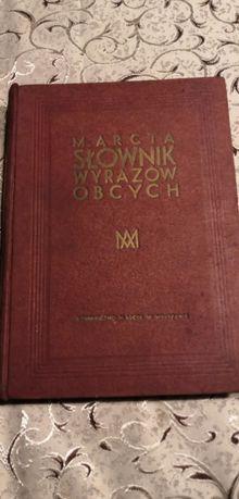 Słownik wyrazów obcych 1938 rok antyk