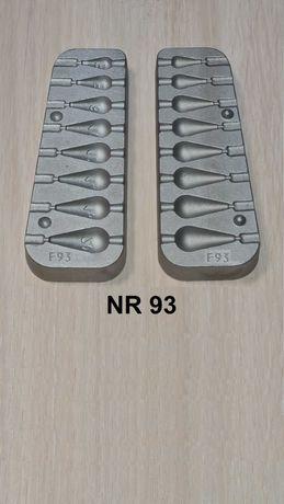 Forma wędkarska - oliwki do bocznego troka - 3/5/8/12/14/16/20 gr.