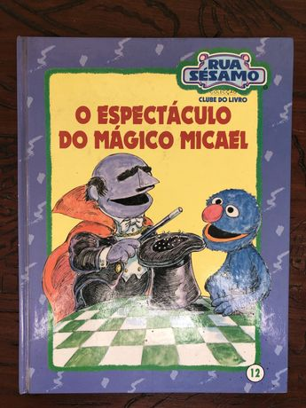 """Livro 12 da coleção """"Rua Sésamo"""""""