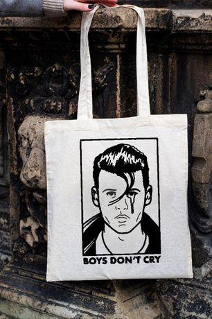 Torba bawelniana, ECO torba na zakupy Johnny Depp Boys don't cry