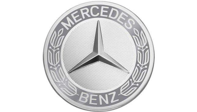 Zestaw dekielków Classic z wieńcem laurowym do felg Mercedes-Benz