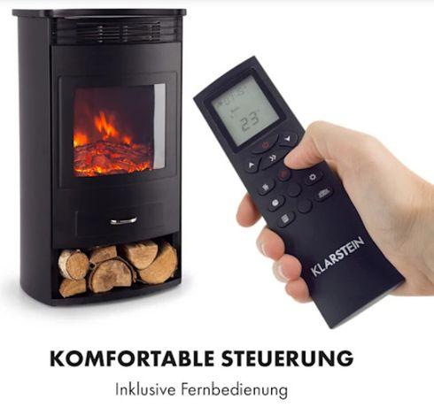 Электрокамин Klarstein Bormio 950/1900 Вт