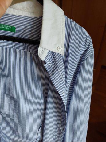 Camisa Benetton / Tamanho S