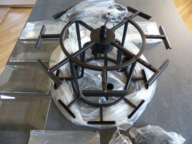 Nowy żyrandol kryształowy AD Loving Home AlmiDecor Sequence Round czar