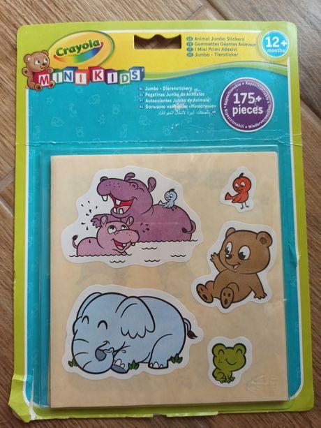 """Набор стикеров для самых маленьких """"Животные"""" - Crayola"""