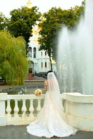 Продам эксклюзивное свадебное платье фирмы Pronovias Испания Барселона