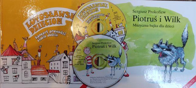 Piotruś i Wilk(Prokofiew), Lutoslawski dzieciom-CD