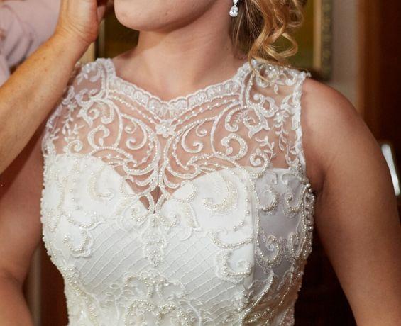 Suknia ślubna koronkowa - Diana MB