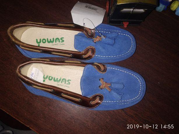 Детские туфли мокасины