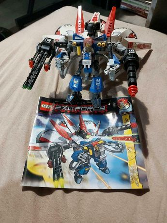 Lego EXO FORCE 8106 Aero Booster jak Ninjago