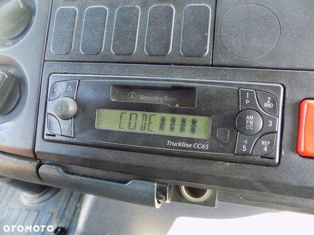 RADIO TRUCKLINE CC65 24V MERCEDES ATEGO BECKER KOD
