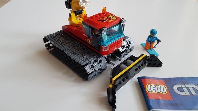 Lego 60222, odśnieżacz, pług