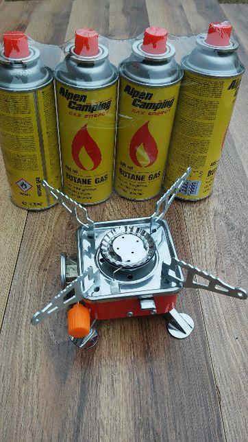 Mini Kuchenka Turystyczna + 4x gaz