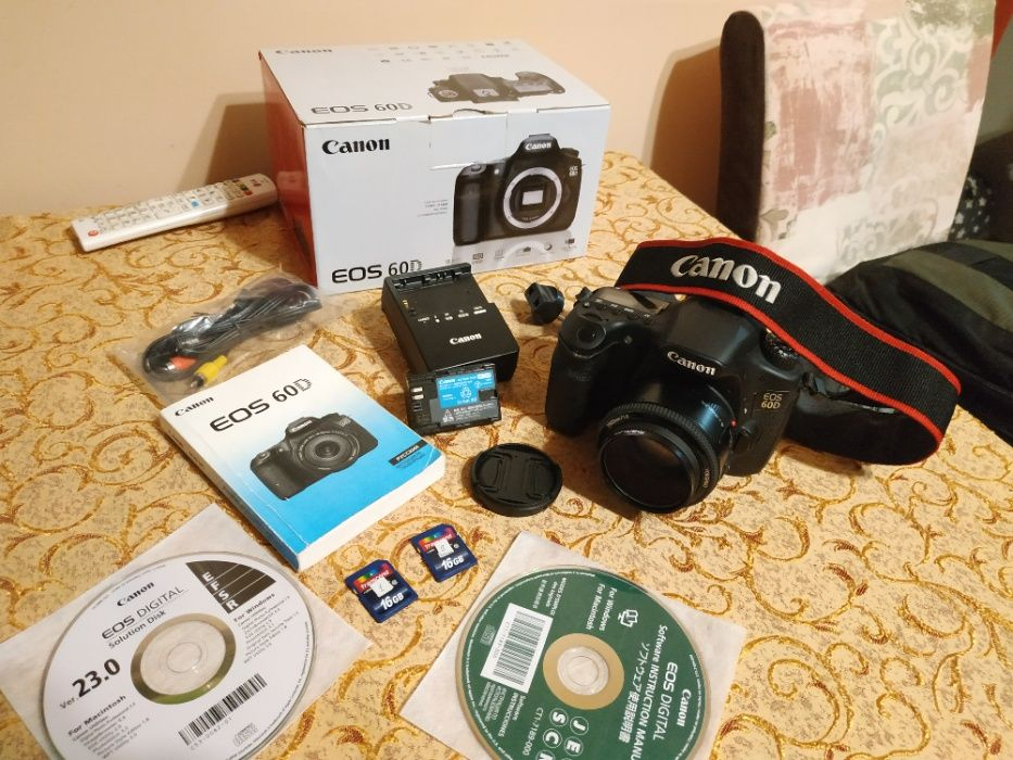 Фотоапарат Canon 60d + YONGNUO 50 F 1.8 (пробіг 4700) Львов - изображение 1