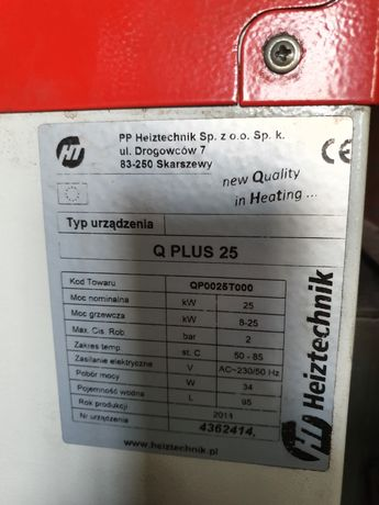 Części do pieca Heiztechnik 25 kw