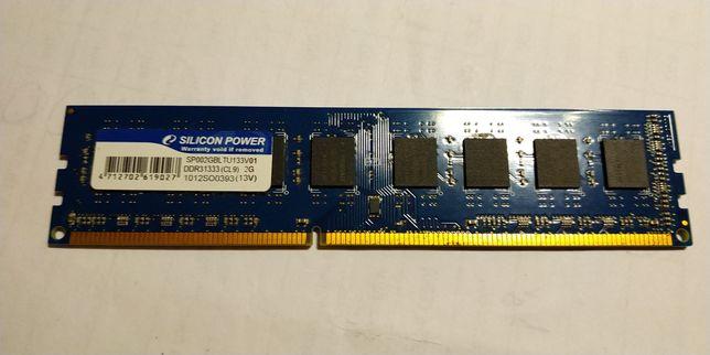 оперативная память для компьютера Silicon Power DDR3,2Gb, унивесальная