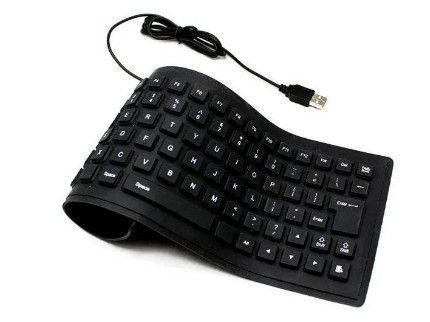 Клавиатура гибкая силикон водонепроницаемая