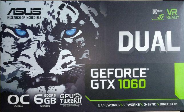 Видеокарта ASUS GeForce GTX 1060 6 GB OC Dual