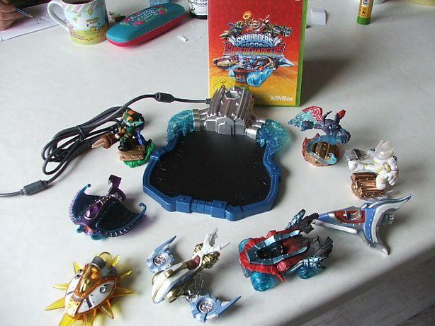 Skylanders PS3, PS4 Superchargers, tanio, gra, dużo figurek