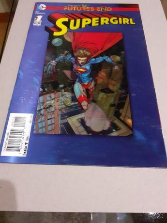 Revista banda desenhada DC Comics Supergirl