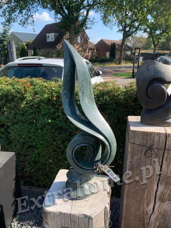 Abstrakcja rzeźba z Afrykańskiego Kamienia do salonu ogrodu. Hc77m