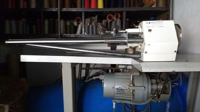 Máquina de cortar clorete