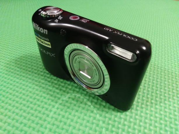 Aparat cyfrowy Nikon A10 Czarny 16.1Mpix - Stan Bdb - Mało używany