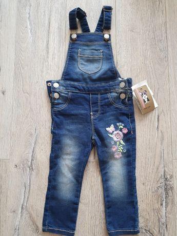 Ogrodniczki jeansowe Dopo Dopo rozmiar 86 nowe
