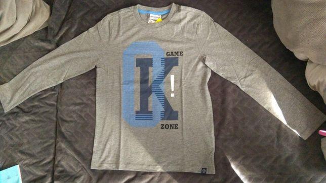 COCCODRILLO Nowa długi rękaw koszulka bluzka r. 158 OSTATNIA