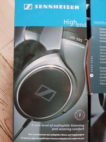 Słuchawki Sennheiser HD595 stan idealny.