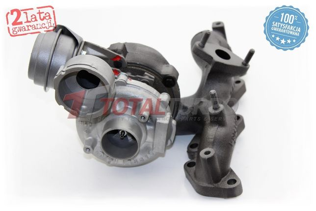 Turbosprężarka turbina Seat Leon Altea Toledo III 2.0 TDI BKD AZV BKP