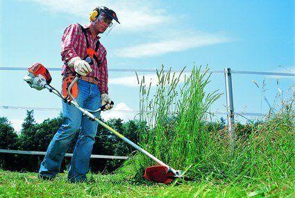 Покос травы и кустарников в Черкассах и области