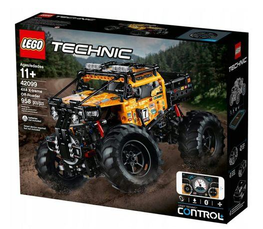 Nowe klocki Lego 42099 zdalnie sterowany pojazd terenowy