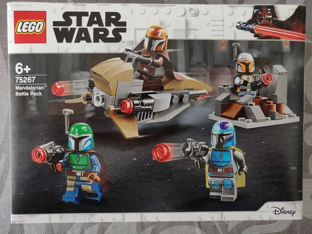 Lego Star Wars Battle Pack 75267 Mandalorian e 75266 Sith Troopers