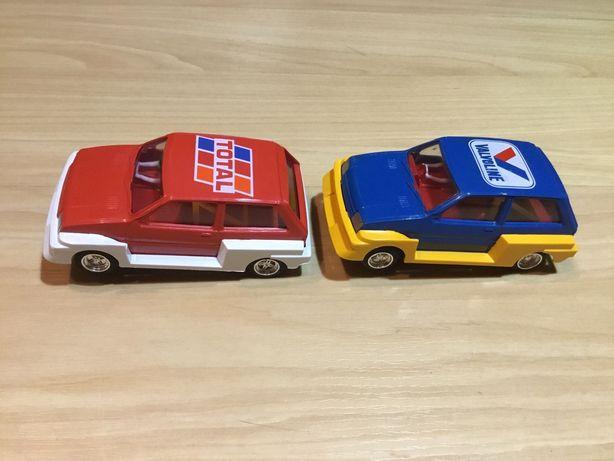 2 miniaturas de carros de pista Scaletrix MG Metro