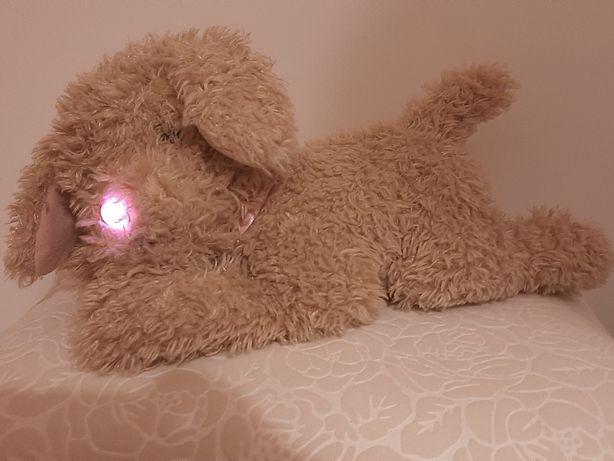 Animagic Tofik piesek interaktywny świecący nosek