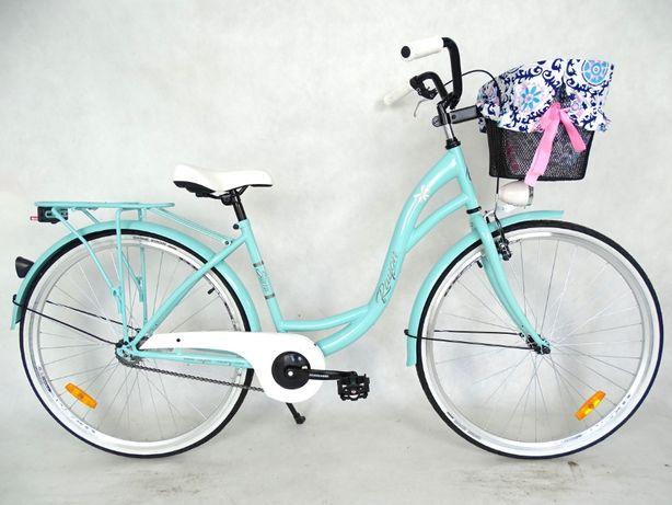 Rower Miejski city LADY 28'' różne KOLORY z koszem