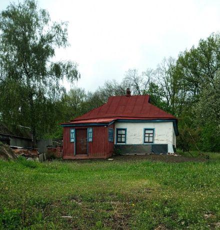 продам земельный участок с хатой Лубны