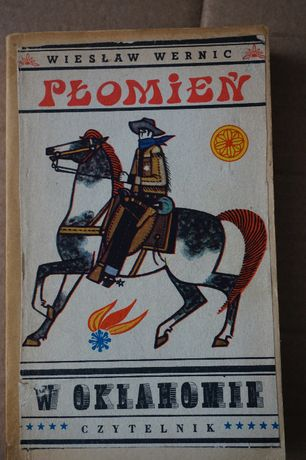 Płomień w Oklahomie Wiesław Wernic 1970r.