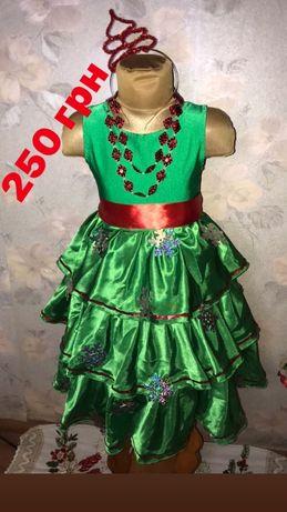 Платье,костюм Елочки