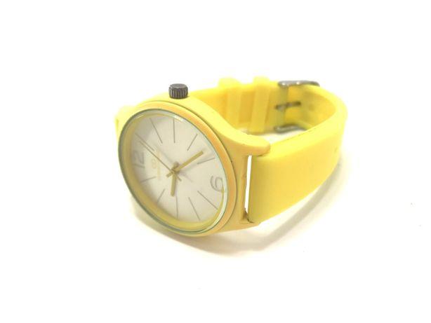 Stylowy zegarek silikonowy żółty GIORGIO&DARIO